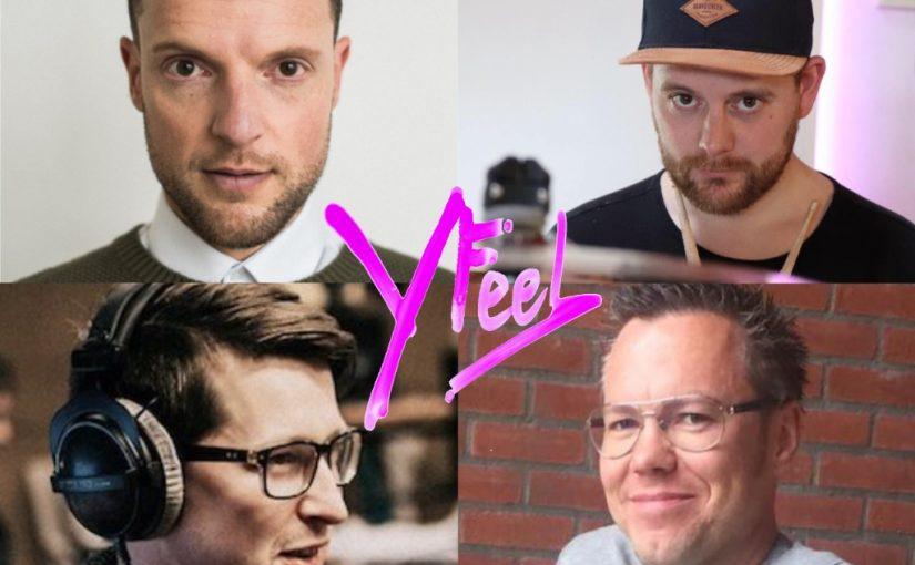 William, SJoerd, Chris en Coen van Yfeel.